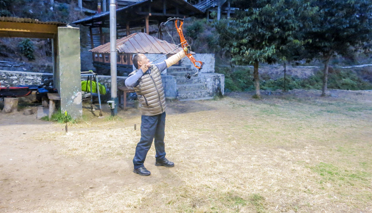 Archery is the Bhutanese soccer