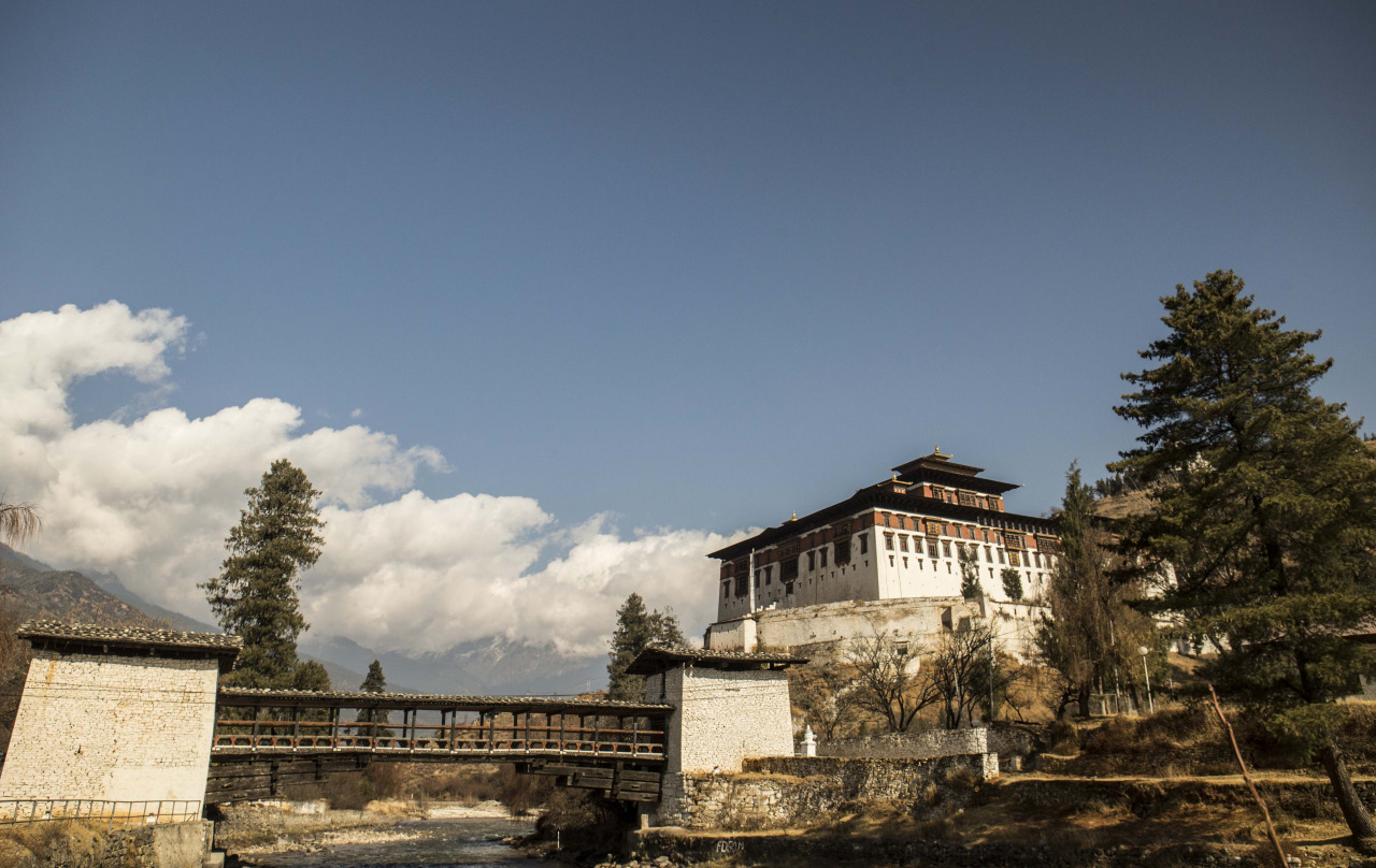 The Rinpung Dzong in Paro