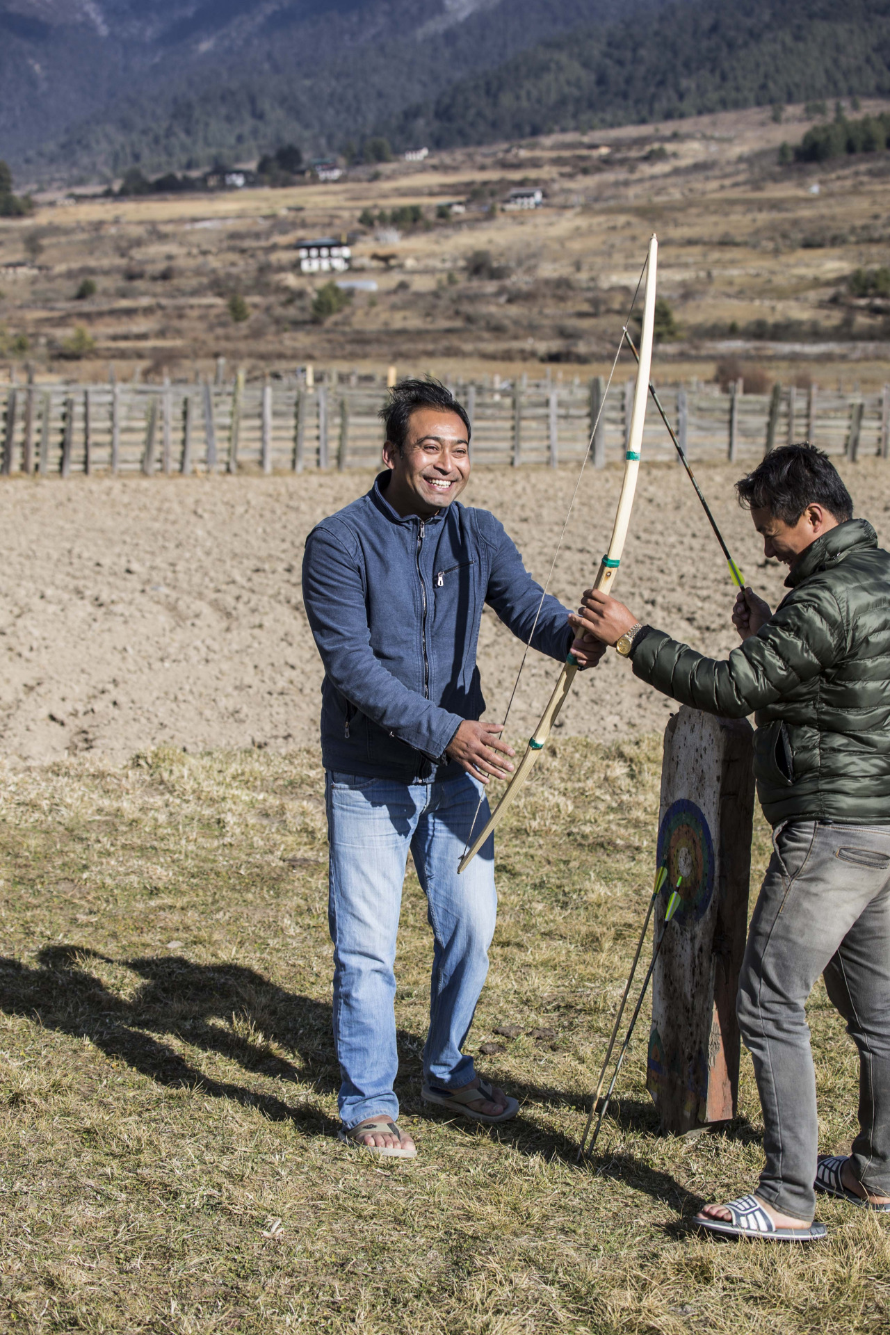 National sport: Archery