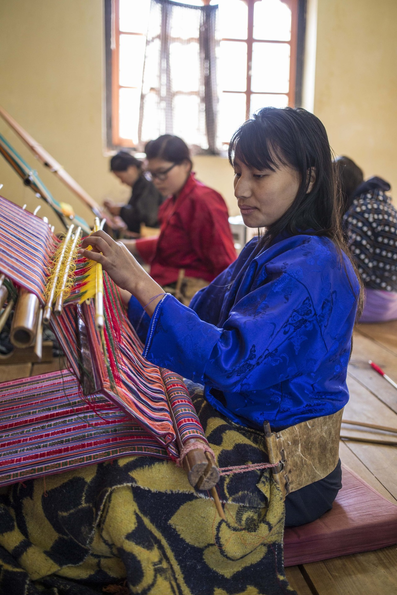 Weavers in Khaling