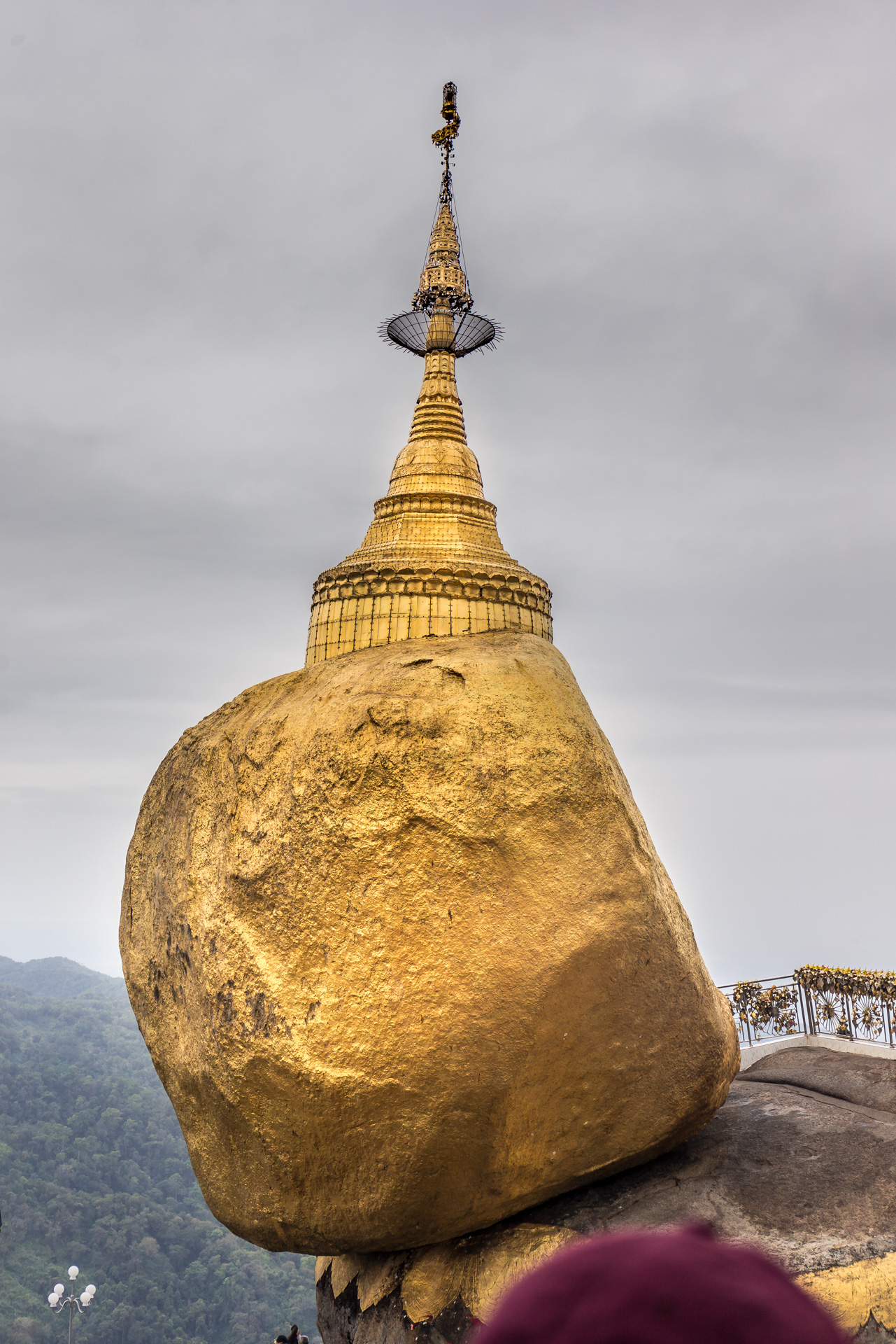 Kyaiktiyo, aka Golden Rock